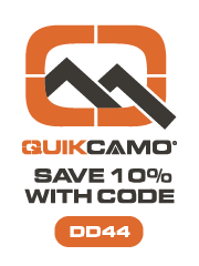 QuikCamo - best source for Camo Hats with Built-in Face Mask, Leafy Suits and Gloves.