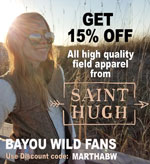 Saint Hugh discount for fans of Don Dubuc and Bayou Wild TV