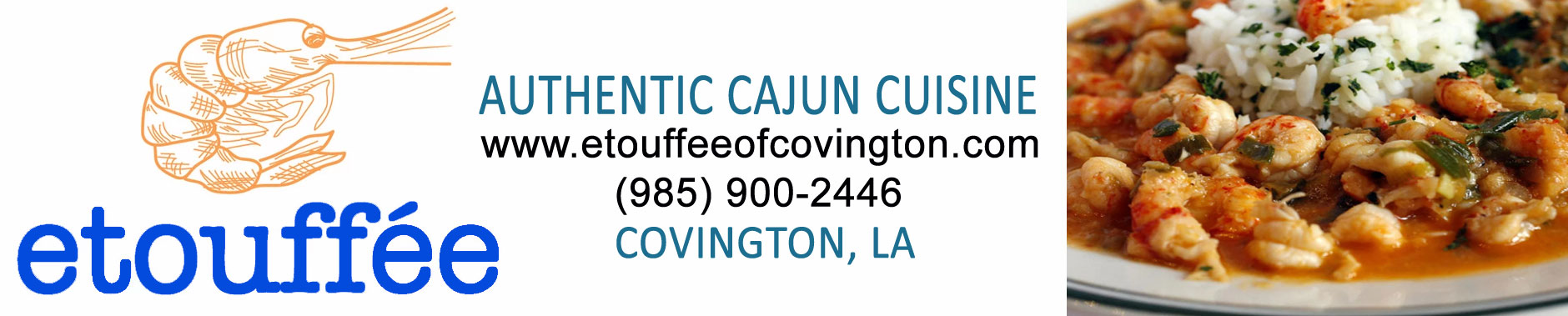 etouffee Authentic Cajun Cuisine