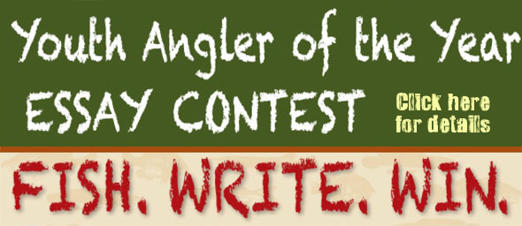 Youth Angler of the Year Essay Contest