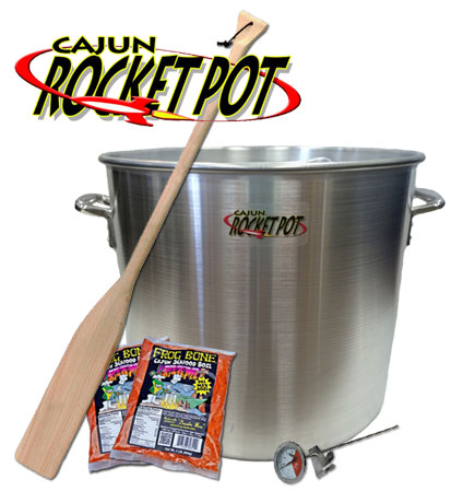 Cajun Rocket Pot Kit